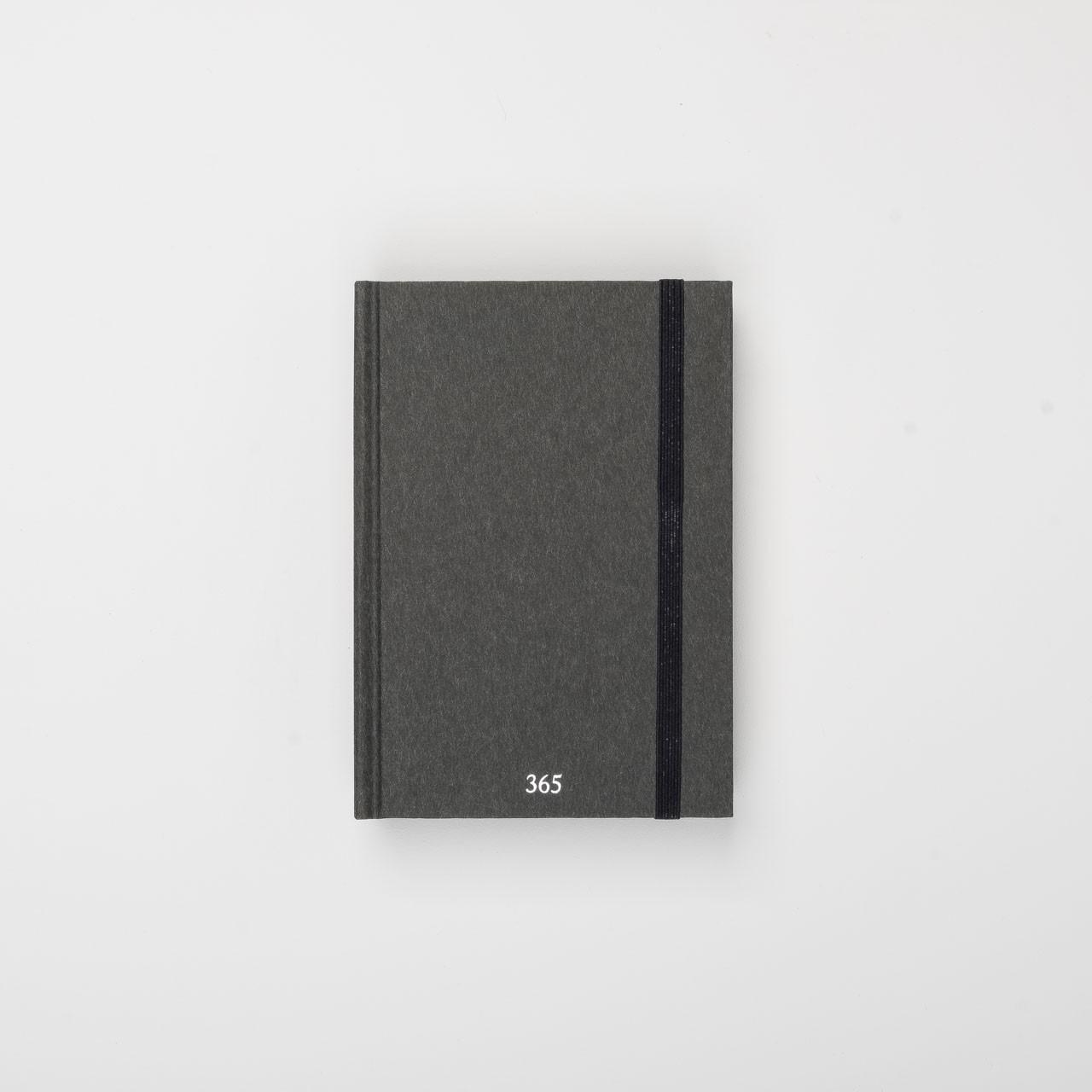 365 Notizbuch A6 Premium sumi
