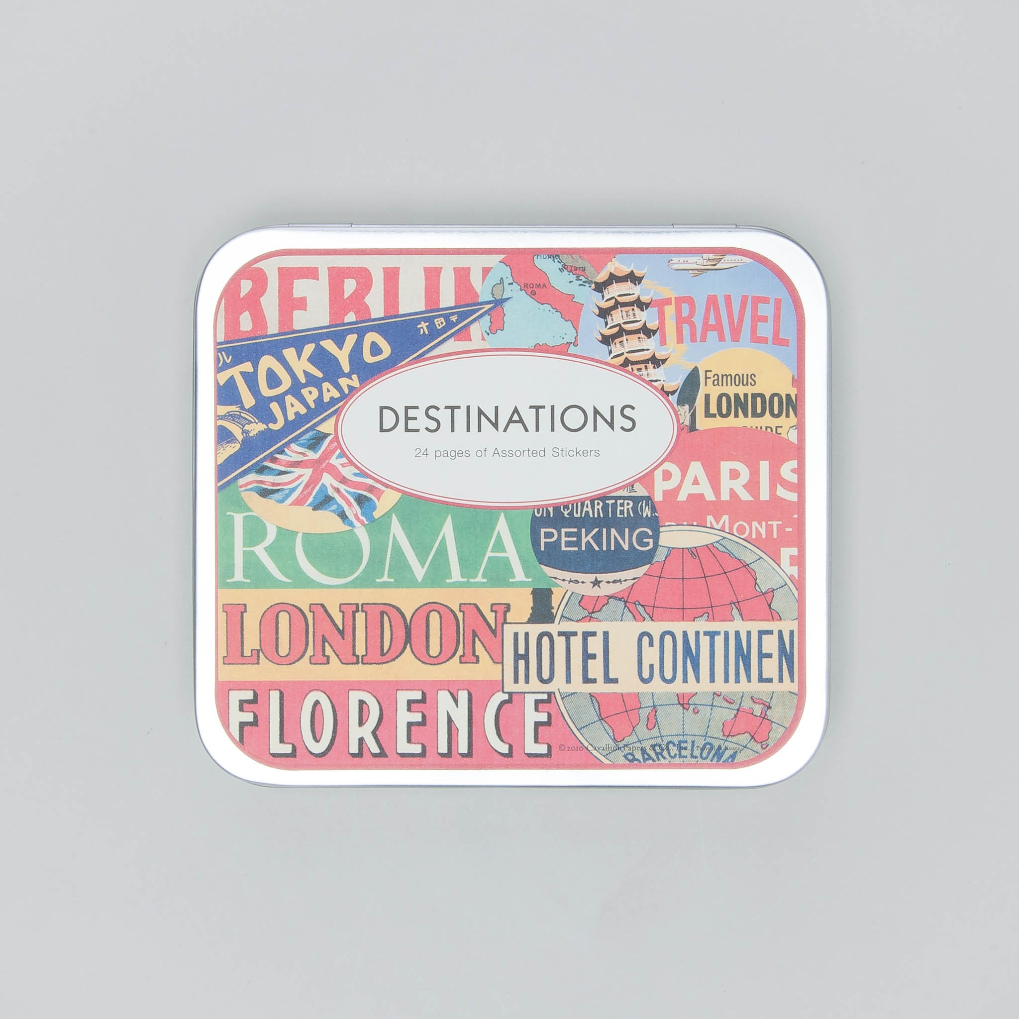 "Cavallini Papers Stickers ""Destinations"""