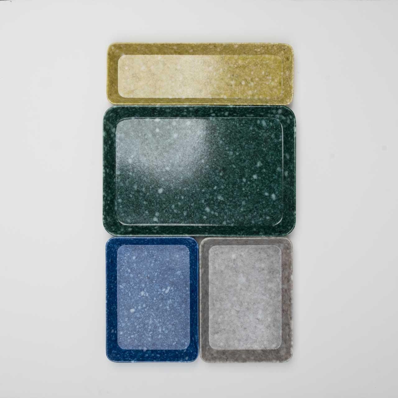 Melamin Tabletts in vielen Größen und Farben