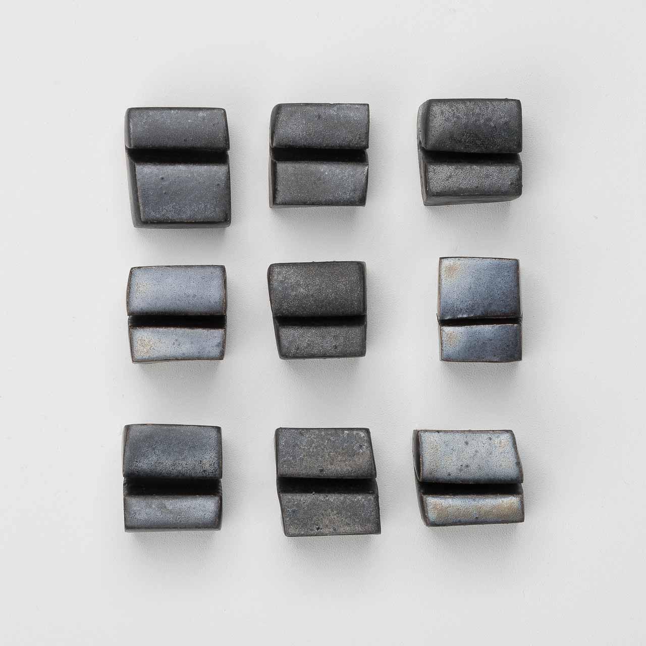 KAMI Kartenhalter Keramik schwarz