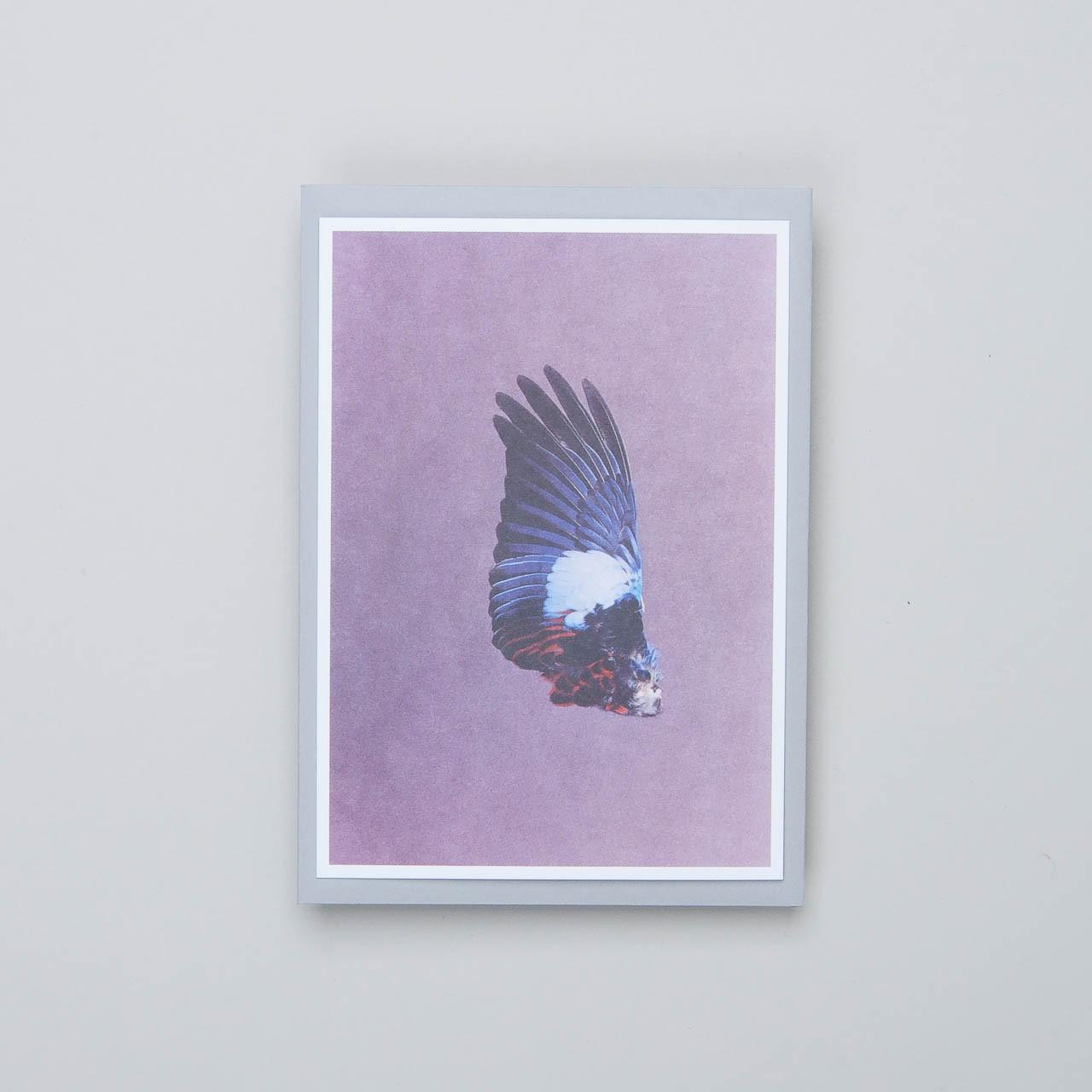"Siebdruckkarte ""Flügel 2"""