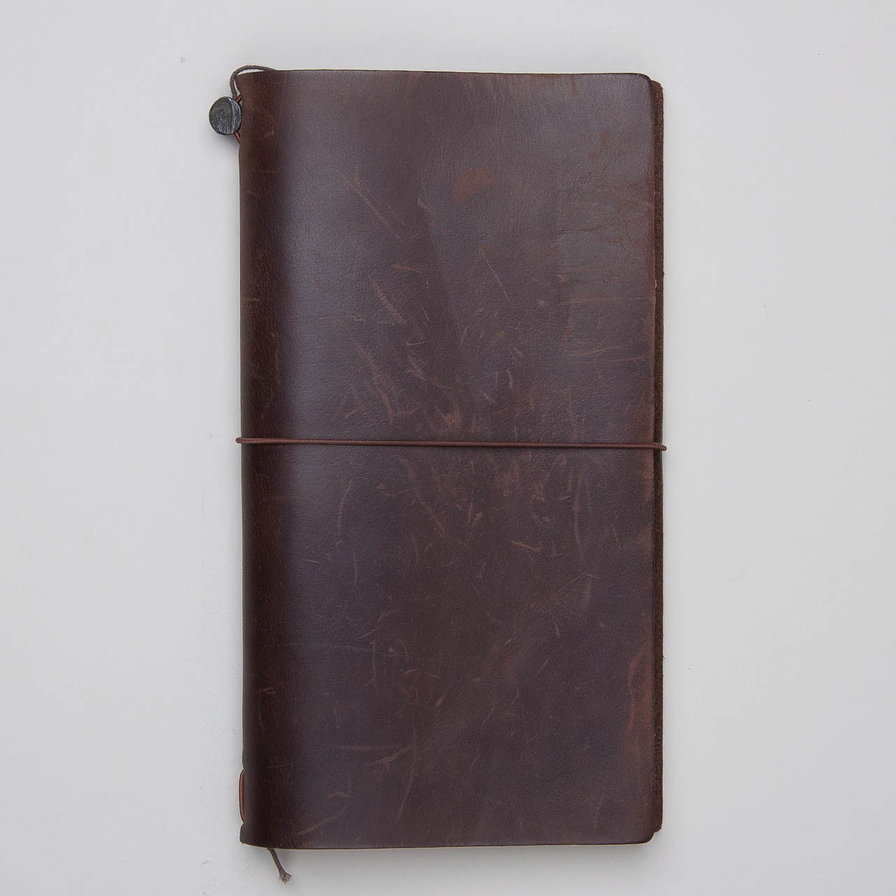 Travelers Notebook aus braunem Leder
