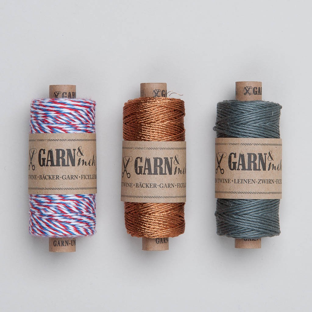 Garn & Mehr Bakers Twine in verschiedenen Farben