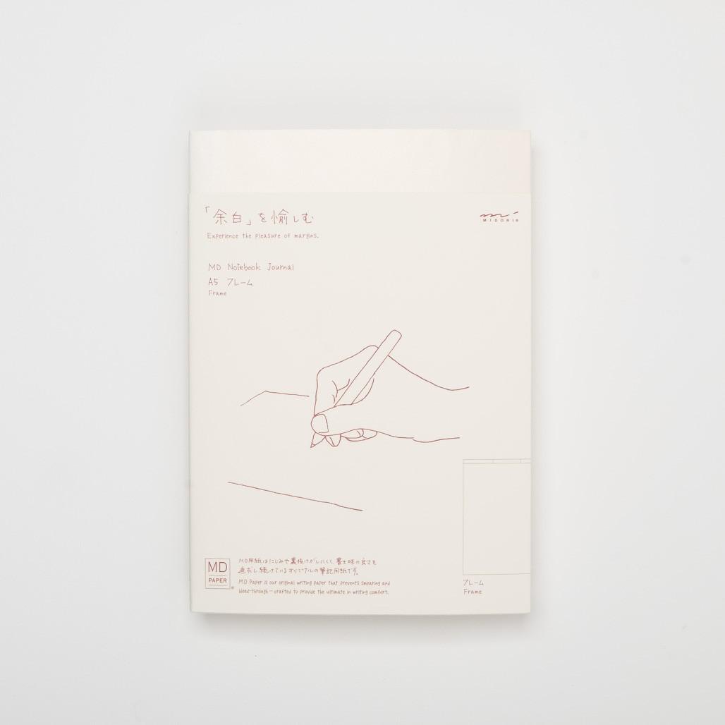 Midori MD minimal Notebook A5 Journal Frame