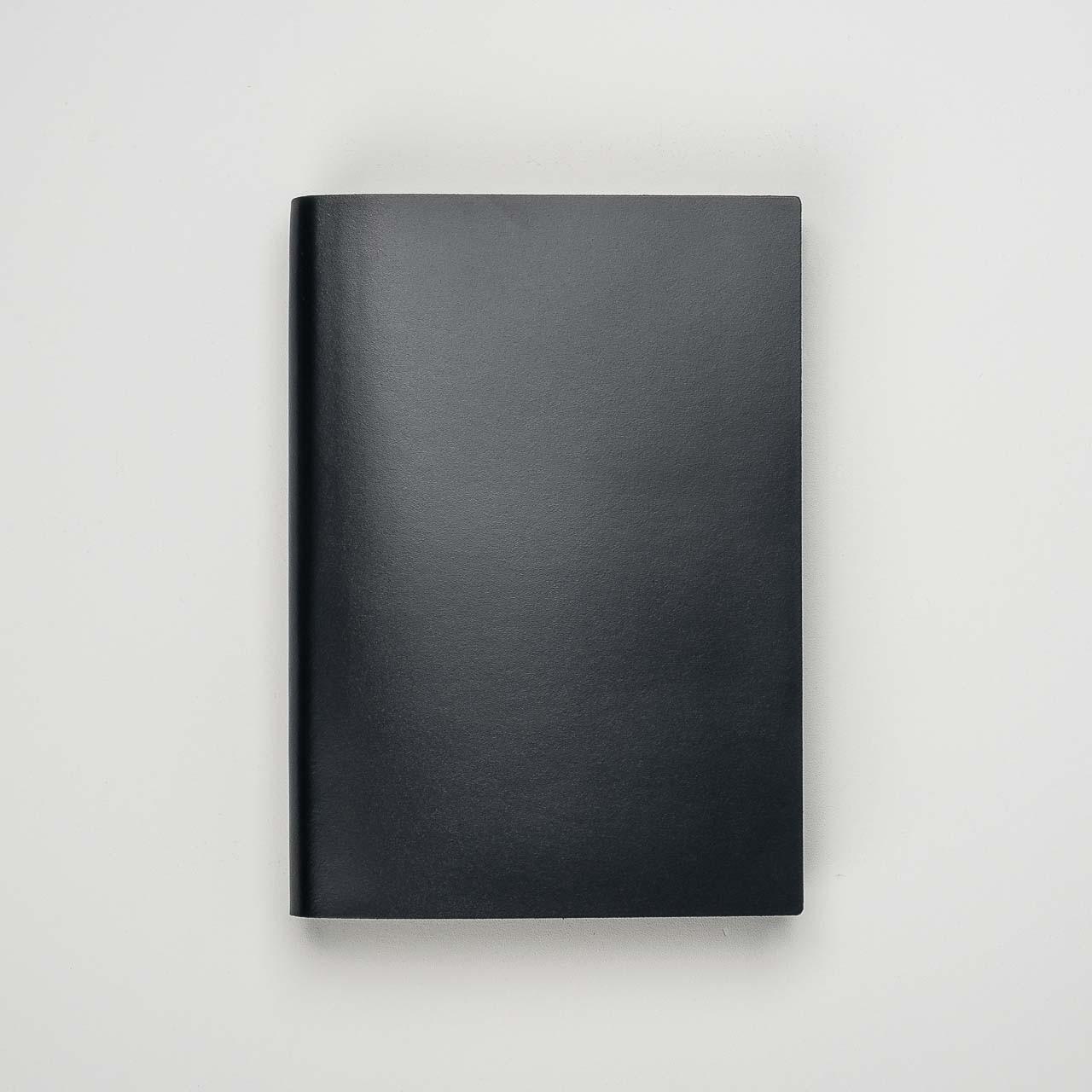Pinetti Notizbuch Kalbsleder schwarz