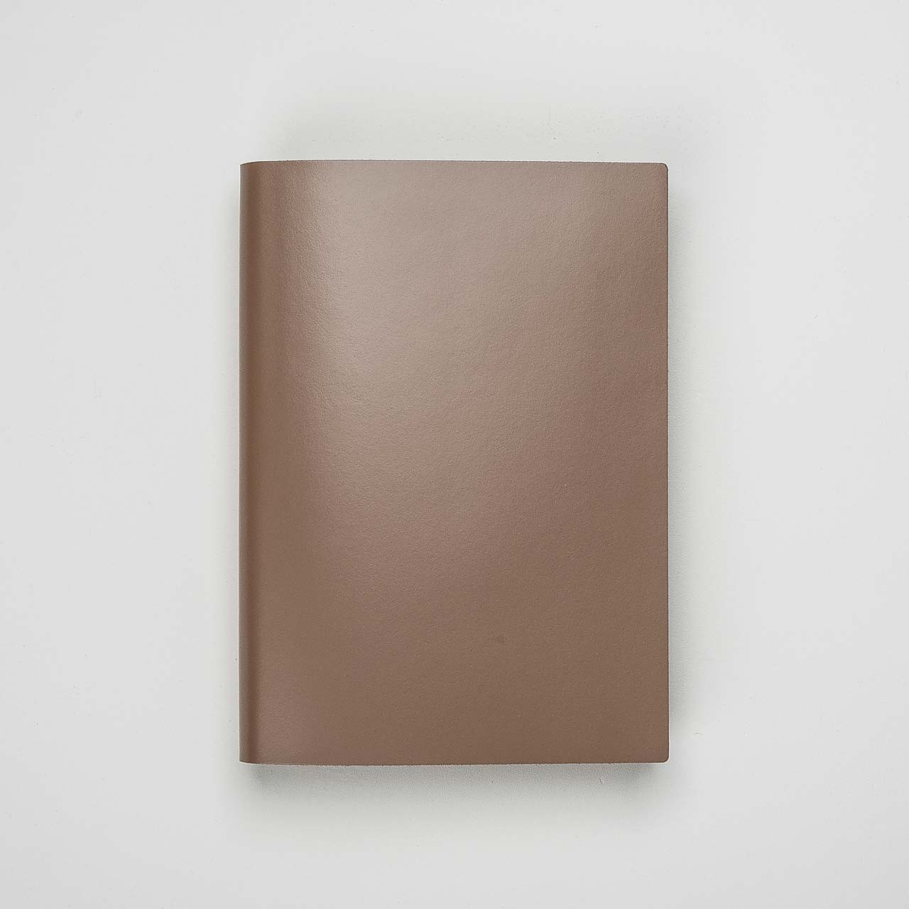 Pinetti Notizbuch Kalbsleder taupe