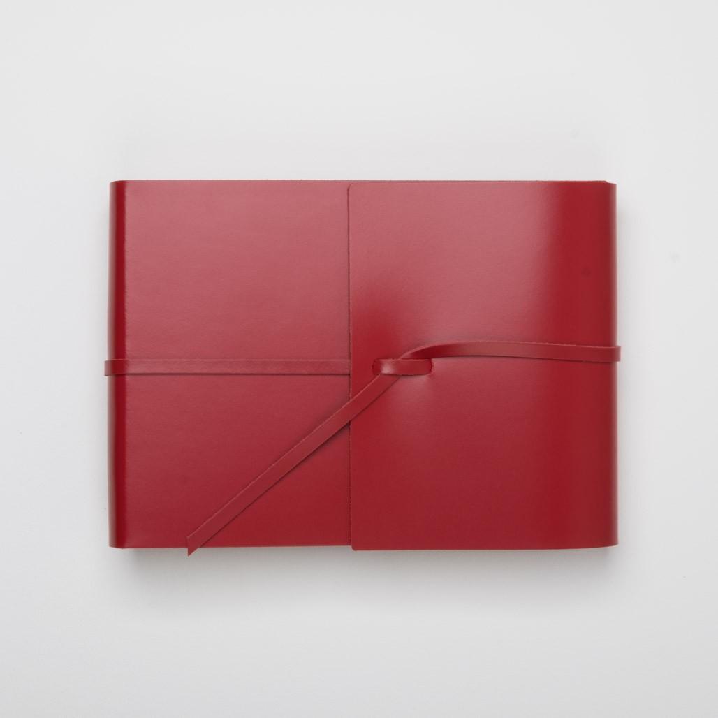 Seitengröße 15 x 20 cm (ca. A5) 46 Seiten creme blanko