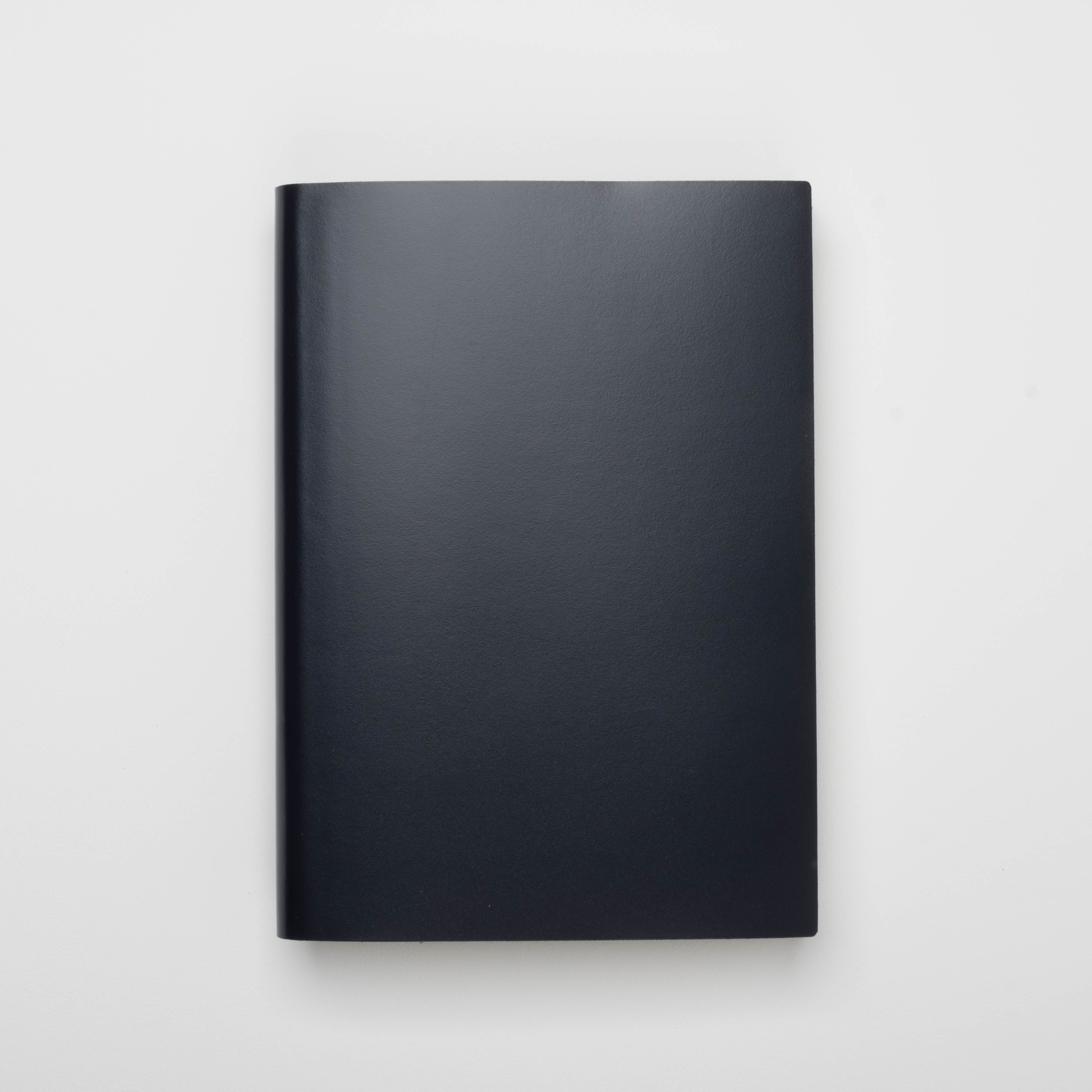 Pinetti Notizbuch Kalbsleder blau