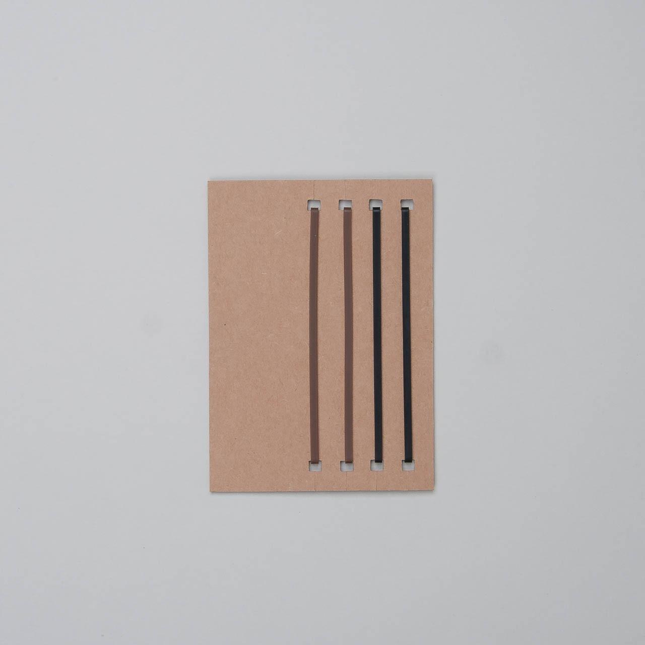"""ähnlich Traveler's Notebook Refill Haltegummis """"011"""" Passport Size"""