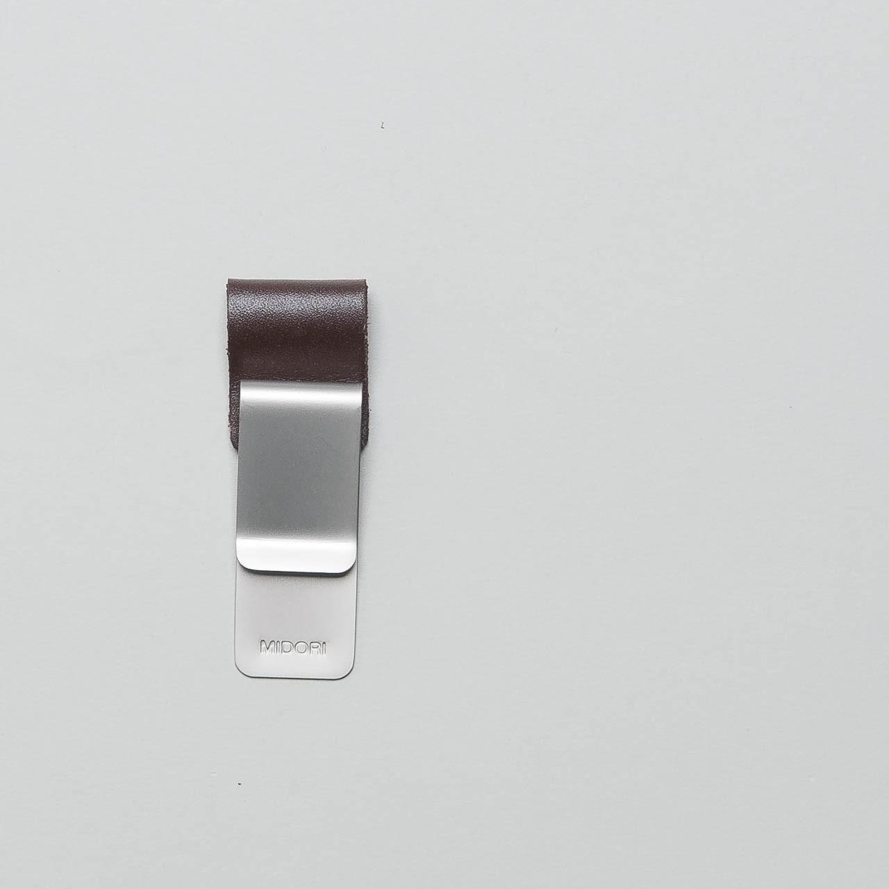 Traveler's Notebook Leder-Stiftschlaufe groß braun