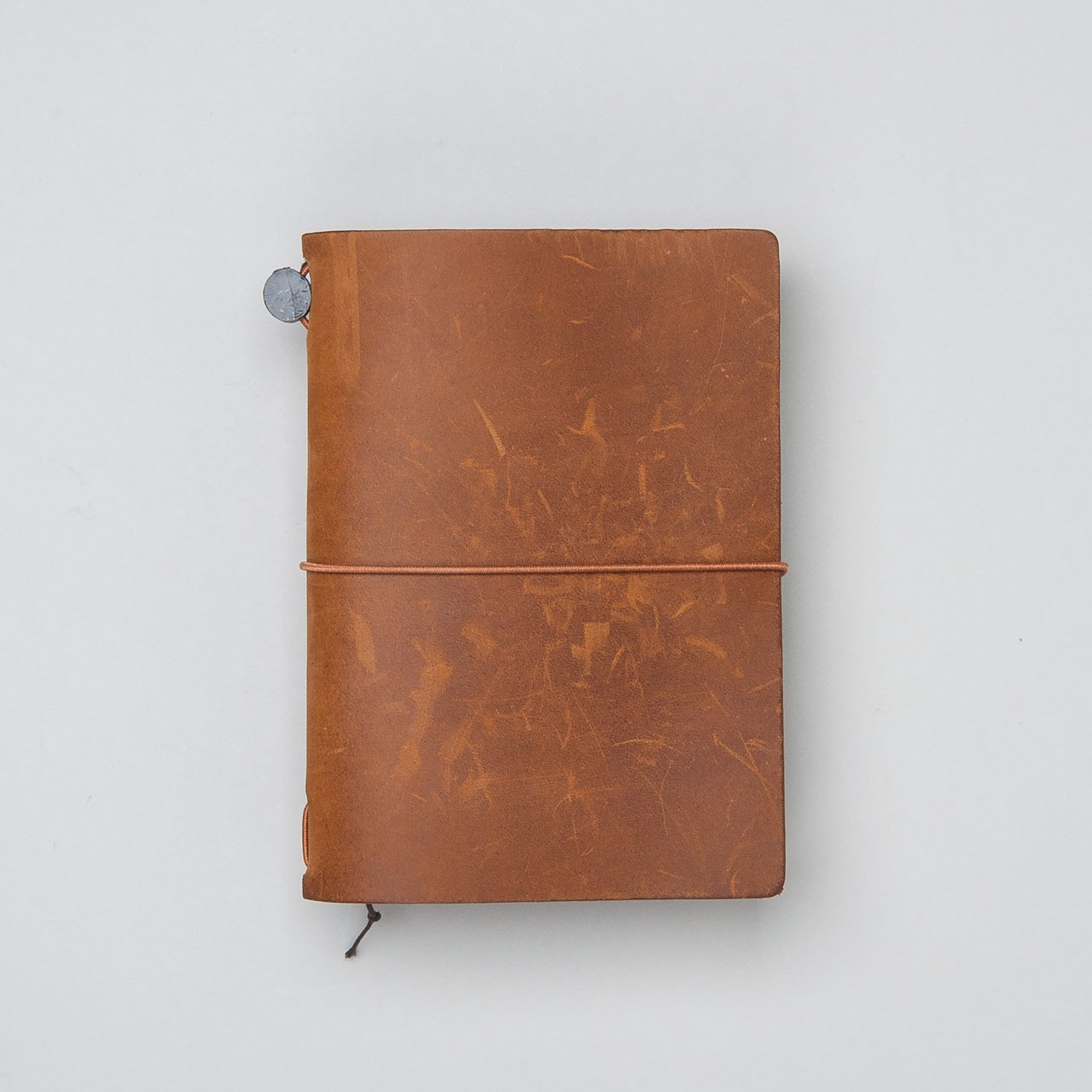 Traveler's Notebook aus Leder Passport Size camel