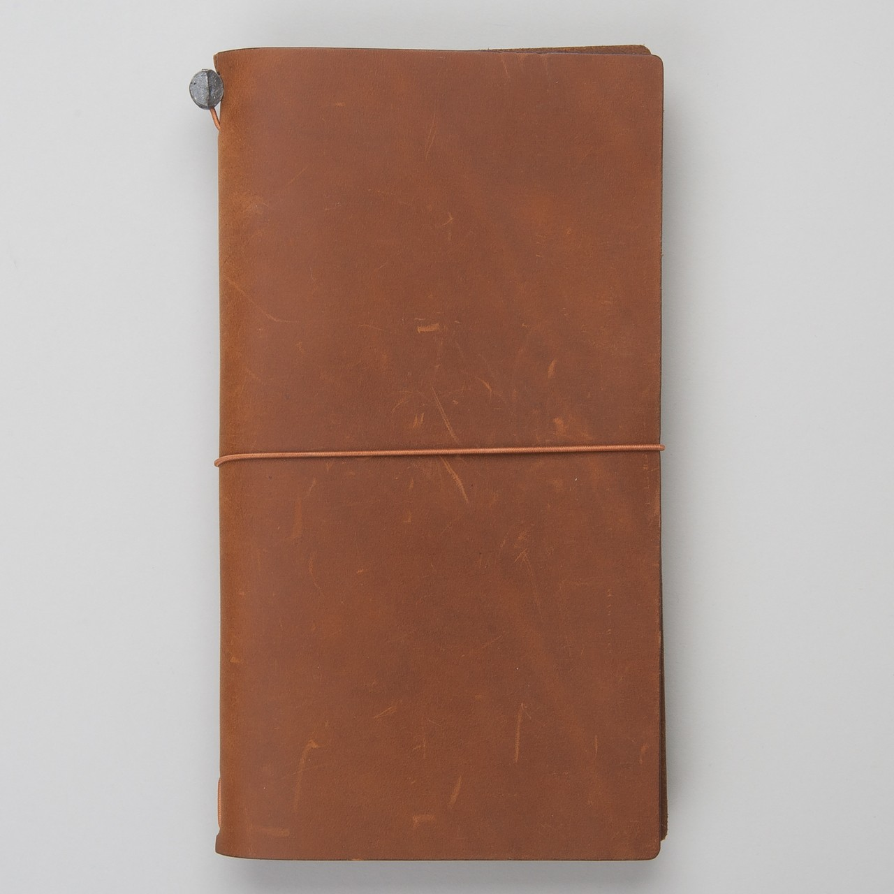 Traveler's Notebook aus Leder Camel